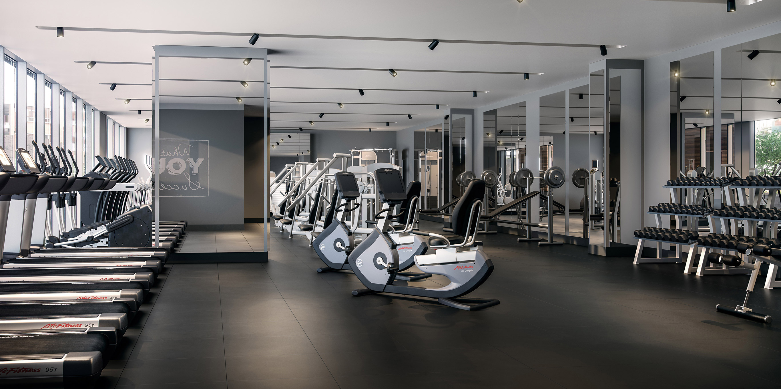 One Mission Bay fitness center